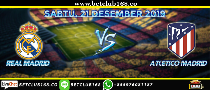 Prediksi Real Madrid Vs Atletico Madrid 1 Febuari 2020